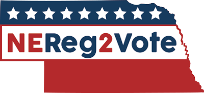NEreg2vote state shape logo